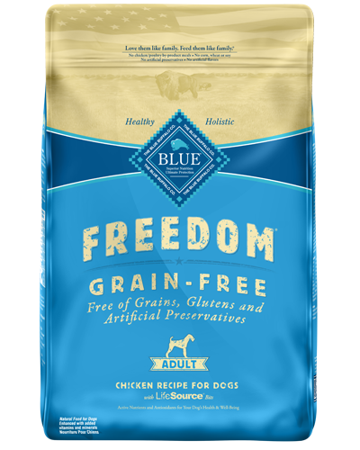 Picture of Blue Buffalo Freedom Grain Free Chicken Recipe - 11 lb.