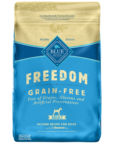 Picture of Blue Buffalo Freedom Grain Free Chicken Recipe - 24 lb.
