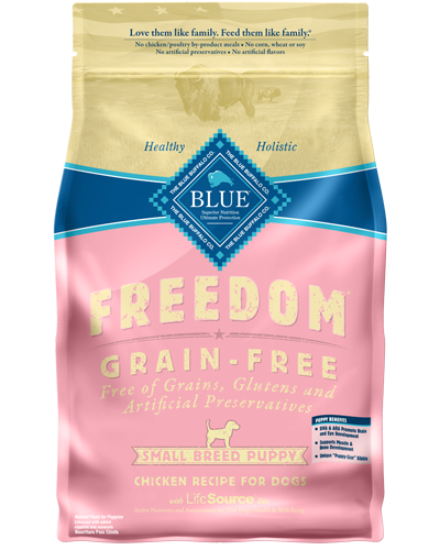 Picture of Blue Buffalo Freedom Grain Free Chicken Recipe for Small Breeds - 4 lb.