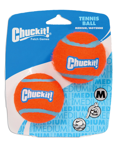 Picture of ChuckIt! Tennis Balls Medium - 2 Pack