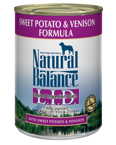 Picture of Natural Balance Limited Ingredient Diets Grain Free Sweet Potato and Venison Formula - 13 oz.