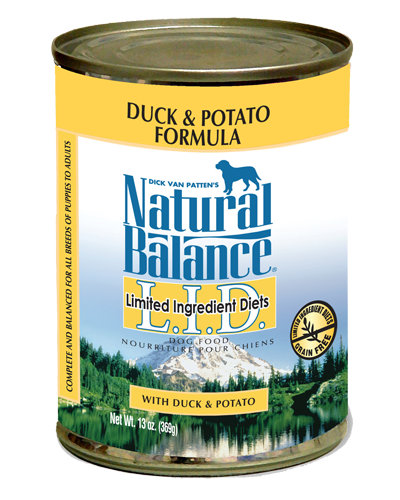 Picture of Natural Balance Limited Ingredient Diets Grain Free Duck and Potato Formula - 13 oz.