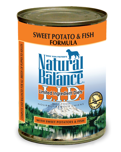 Picture of Natural Balance Limited Ingredient Diets Grain Free Sweet Potato and Fish Formula - 13 oz.