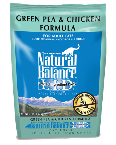 Picture of Natural Balance Limited Ingredient Diet Grain Free Green Pea and Chicken Formula - 5 lb.