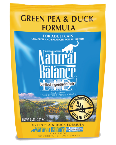 Picture of Natural Balance Limited Ingredient Diet Grain Free Green Pea and Duck Formula - 5 lb.