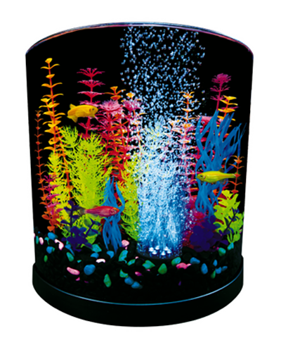 Picture of Tetra Glofish Halfmoon LED Aquarium Kit - 3 Gallon