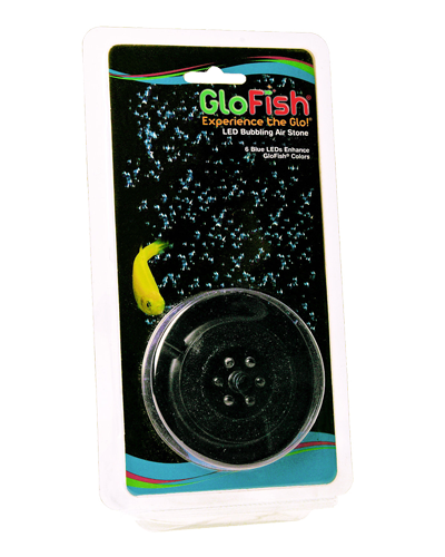 Picture of GloFish Blue LED Bubbling Air Stone