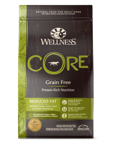 Picture of Wellness CORE Grain Free Reduced Fat Recipe with Turkey - 4 lbs.