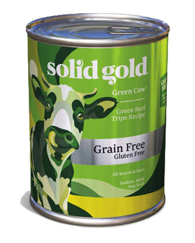Picture of Solid Gold Grain Free Green Cow Beef Tripe in Beef Broth - 13.2 oz.