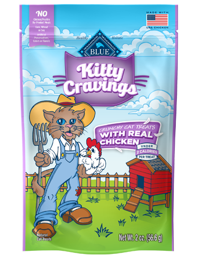 Picture of Blue Buffalo Kitty Yums Tasty Chicken Recipe Treats - 2 oz.