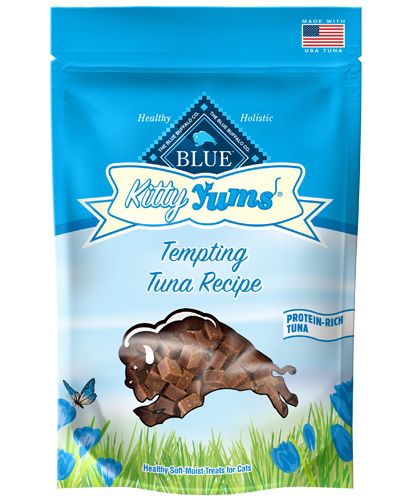 Picture of Blue Buffalo Kitty Yums Tempting Tuna Recipe Treats - 2 oz.