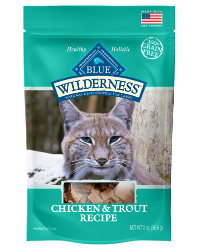 Picture of Blue Buffalo Wilderness Chicken and Trout Soft-Moist Treats - 2 oz.
