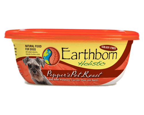 Picture of Earthborn Holistic Grain Free Pepper's Pot Roast with Beef - 9 oz.