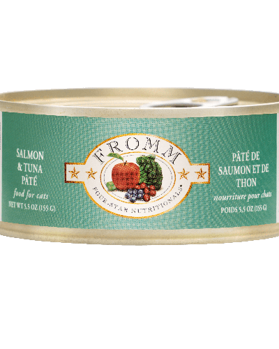 Picture of Fromm Four Star Grain Free Salmon and Tuna Pate - 5 oz.