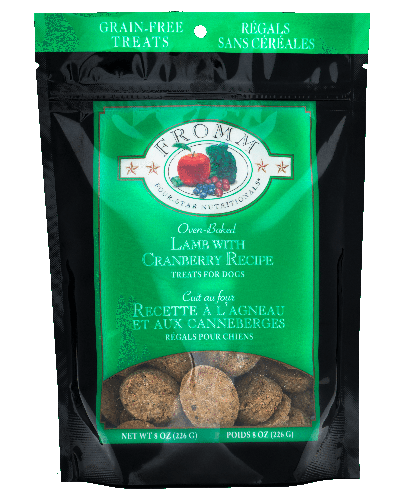 Picture of Fromm Four Star Grain Free Oven Baked Treats with Lamb and Cranberry - 8 oz.