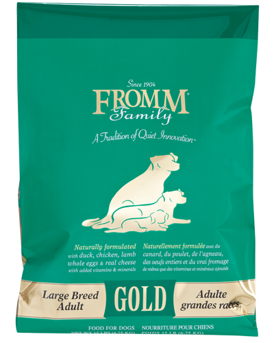 Picture of Fromm Gold Adult Large Breed Formula with Duck and Chicken - 15 lb.