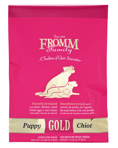 Picture of Fromm Gold Puppy Formula with Duck and Chicken - 15 lb.