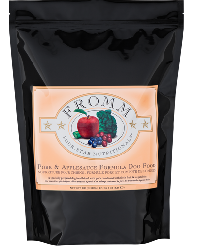 Picture of Fromm Four Star Pork and Applesauce Formula - 5 lb.