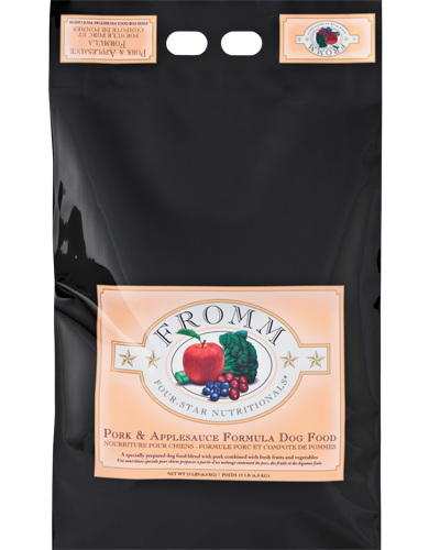 Picture of Fromm Four Star Pork and Applesauce Formula - 15 lb.