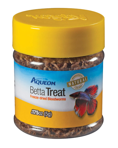 Picture of Aqueon Dehydrated Bloodworms Betta Treat - .175 oz.
