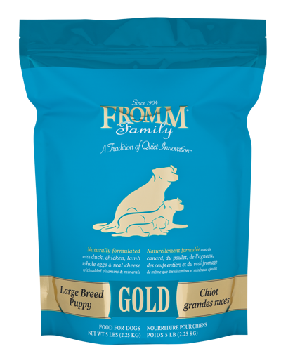 Picture of Fromm Gold Puppy Large Breed Formula with Duck and Chicken - 5 lb.