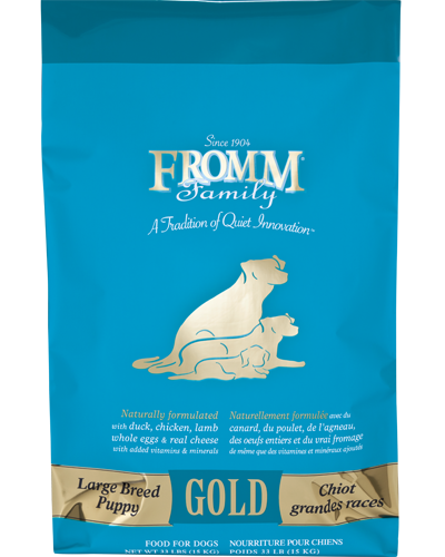Picture of Fromm Gold Puppy Large Breed Formula with Duck and Chicken - 33 lb.
