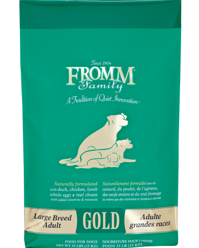 Picture of Fromm Gold Adult Large Breed Formula with Duck and Chicken - 33 lb.