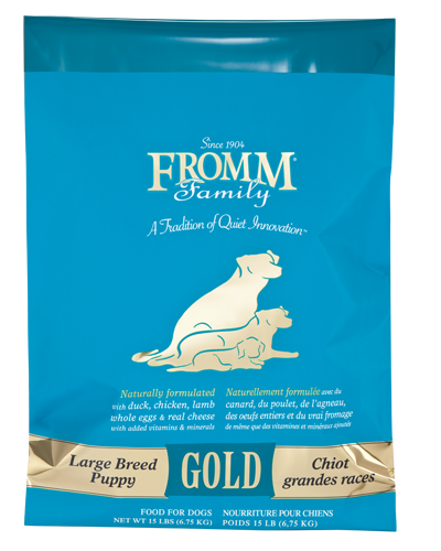 Picture of Fromm Gold Puppy Large Breed Formula with Duck and Chicken - 15 lb.