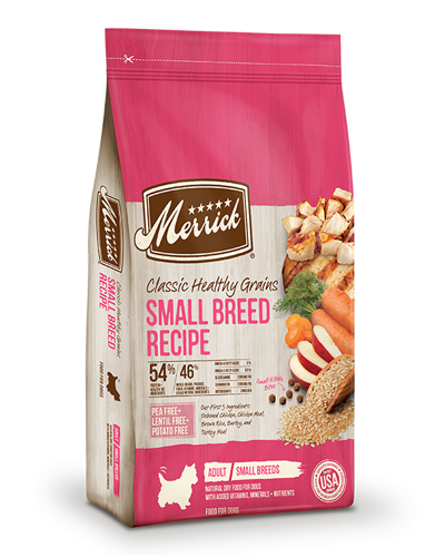 Picture of Merrick Classic Healthy Grains Small Breed Recipe - 4 lbs.