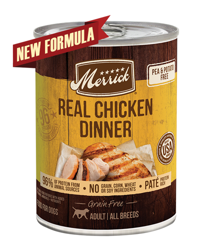 Picture of Merrick Grain Free 96% Real Chicken Formula - 13.2 oz.