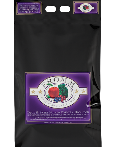 Picture of Fromm Four Star Duck and Sweet Potato Formula - 15 lb.
