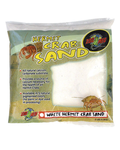 Picture of ZooMed Labs Hermit Crab White Sand - 2 lb.