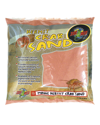 Picture of ZooMed Labs Hermit Crab Mauve Sand - 2 lb.