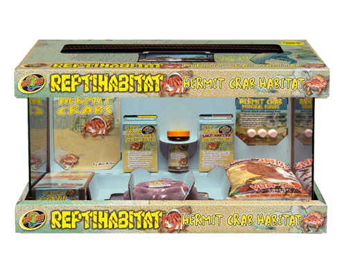 Picture of ZooMed ReptiHabitat Hermit Crab Kit - 10 Gallon