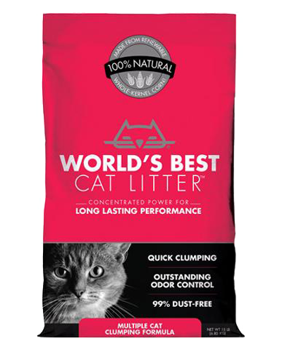 Picture of World's Best Cat Litter Multiple Cat Clumping Litter - 14 lb.