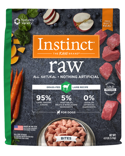 Picture of Nature's Variety Instinct Raw Signature Frozen Bites Real Lamb - 4 lbs.