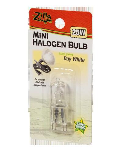 Picture of Zilla Day White Mini Halogen Bulb - 25 Watt