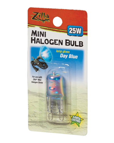 Picture of Zilla Day Blue Mini Halogen Bulb - 25 Watt