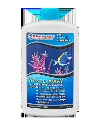 Picture of Dr. Tim's Aquatics Marine Waste-Away Natural Aquarium Cleaner - 16 oz