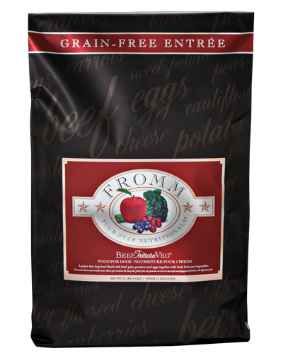 Picture of Fromm Four Star Grain Free Beef Frittata Veg Entrée - 26 lb.