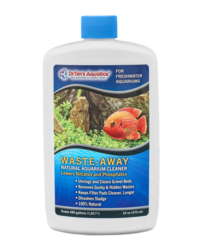 Picture of Dr. Tim's Aquatics Freshwater Waste-Away Natural Aquarium Cleaner - 16 oz