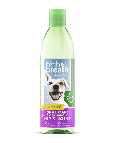 Picture of Tropiclean Fresh Breath + Hip & Joint Water Additive - 16 oz