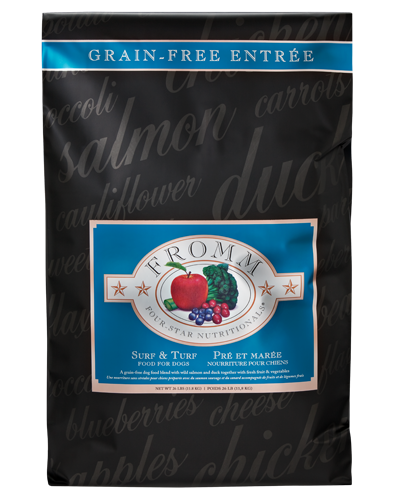 Picture of Fromm Four Star Grain Free Surf and Turf Entrée with Salmon and Duck - 25 lb.