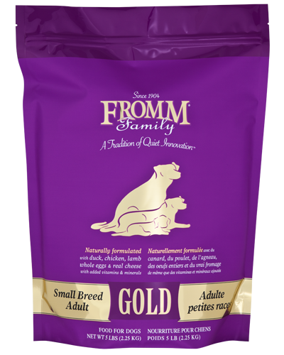 Picture of Fromm Gold Adult Small Breed Formula with Duck and Chicken - 5 lb.