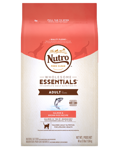 Picture of Nutro Wholesome Essentials Salmon & Whole Brown Rice  Adult - 3 lbs.