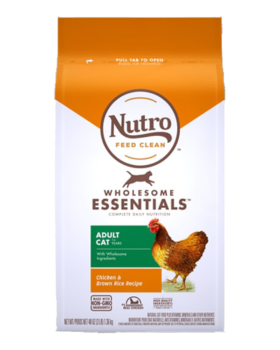 Picture of Nutro Wholesome Essentials Chicken & Whole Brown Rice  Adult - 3 lbs.