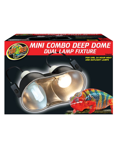 Picture of ZooMed Labs Mini Combo Deep Dome Lamp Fixture - 100 Watt