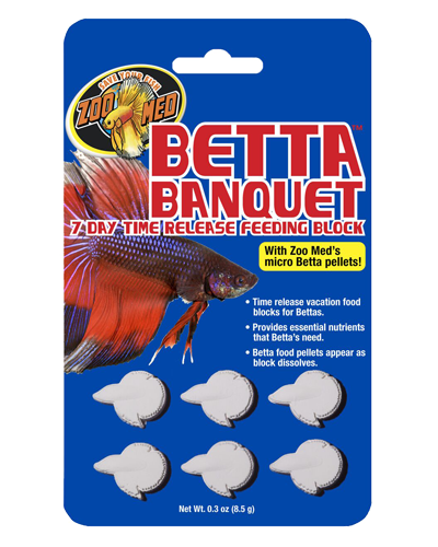 Picture of ZooMed Labs 7-Day Time Release Betta Banquet - 0.3 oz.