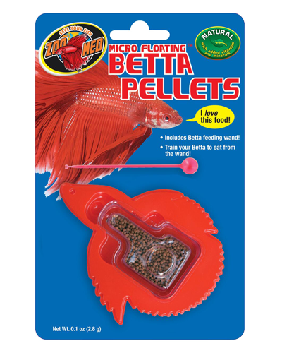 Picture of ZooMed Labs Micro Floating Betta Pellets - 0.12 oz.
