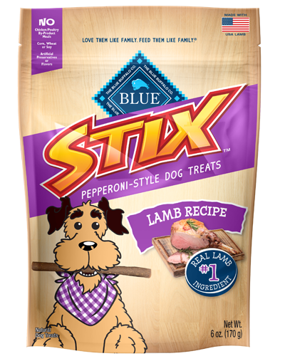 Picture of Blue Buffalo Stix Lamb Recipe Soft-Moist Treats - 6 oz.